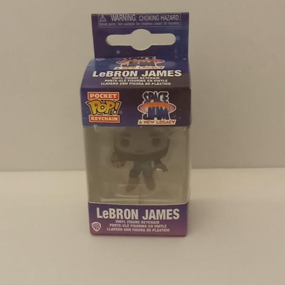LeBron James Keychain Funko Pop